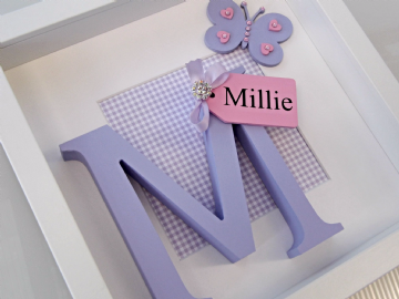 Personalised Initial Box frame